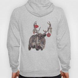 Reindeer with Baubles Hoody