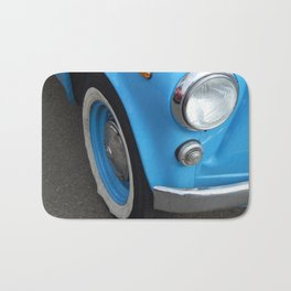 Retro cars antique parts and the elements Bath Mat