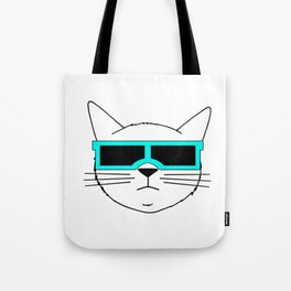 Cool Cat 2 Tote Bag