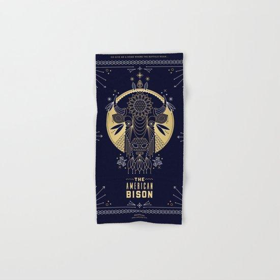 The American Bison Hand & Bath Towel
