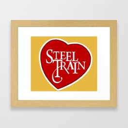 Steel Train Framed Art Print