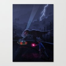 Where's The Goat? Canvas Print