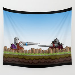 Joust It Wall Tapestry