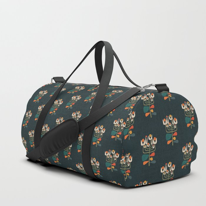 Retro botany Duffle Bag