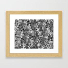 Busty Framed Art Print