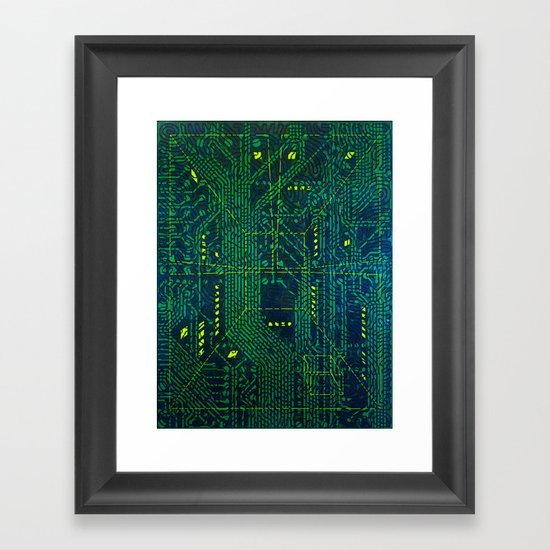 Tao Hacker Framed Art Print
