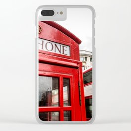 Iconic London Clear iPhone Case
