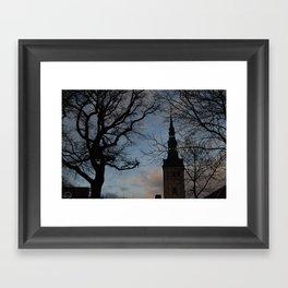Magic place Framed Art Print