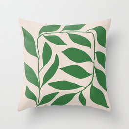 Ivy Squared Throw Pillow