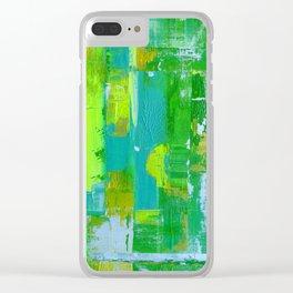 Quietude 1 Clear iPhone Case