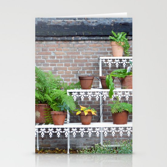 Pots and plants Stationery Cards