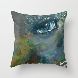 Woodland Daydreams Throw Pillow