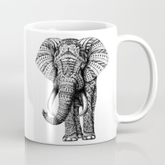 Ornate Elephant Mug
