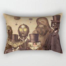 Victorian Wars  - square format Rectangular Pillow