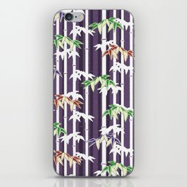 Vintage Japanese Bamboo pattern iPhone Skin