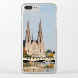 Streets of Strasbourg Clear iPhone Case
