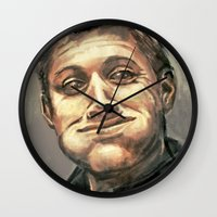 monster hunter Wall Clocks featuring Hunter by why would you buy any of these