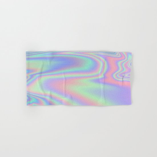 Iridescent  Hand & Bath Towel