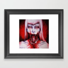 phobic Framed Art Print