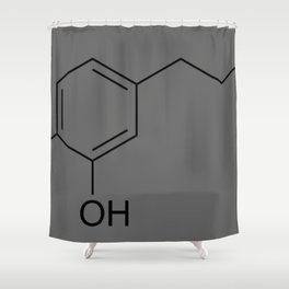Dopamine Shower Curtain