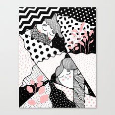 Intersections Canvas Print