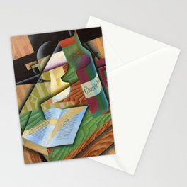 "Juan Gris ""Le livre (The book)"" Stationery Cards"