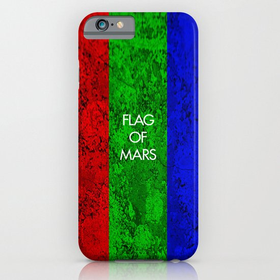 THE FLAG OF MARS iPhone & iPod Case