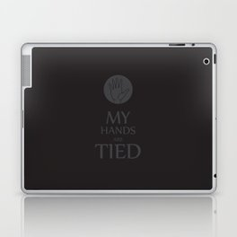 My hands are tied Laptop & iPad Skin