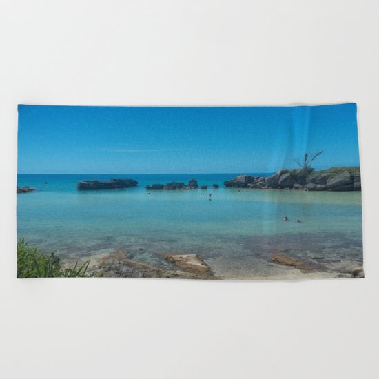Bermuda Beach 2 Beach Towel
