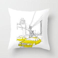 Cross Town Traffic Throw Pillow