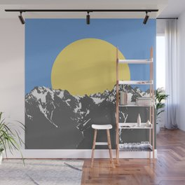 The Hills Wall Mural