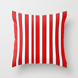 Strips 10-line,band,striped,zebra,tira,linea,rayas,rasguno,rayado. Throw Pillow
