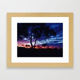 Karijini Sunrise Framed Art Print