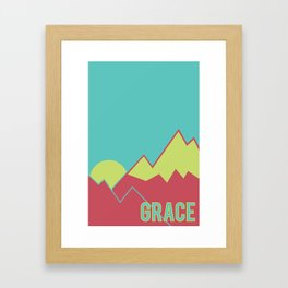 What Are We For: Grace Framed Art Print