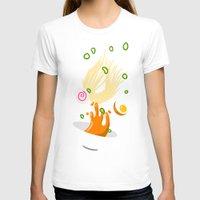 ramen T-shirts featuring Ramen Bowl Print by ROMAA