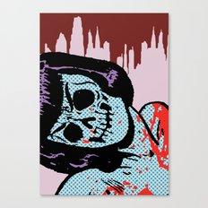 The Postmodern Dead: Lana Canvas Print