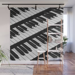 Keyboards Wall Mural