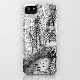 On the Trail iPhone Case