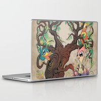 jungle Laptop & iPad Skins featuring JUNGLE by GEEKY CREATOR