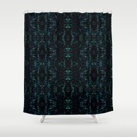 siren Shower Curtains featuring Siren by LIRO