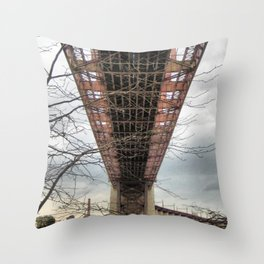 UNDER HELLS GATE NYC  Throw Pillow