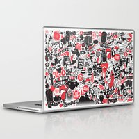 western Laptop & iPad Skins featuring Western Pattern by lanewera