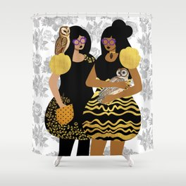 Goth Girls Shower Curtain