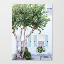 The Teal House - Charleston, SC Canvas Print