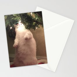 Meowy Christmas 3 Stationery Cards