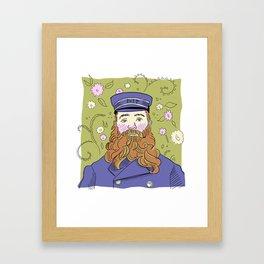 Vinny's Postman Framed Art Print