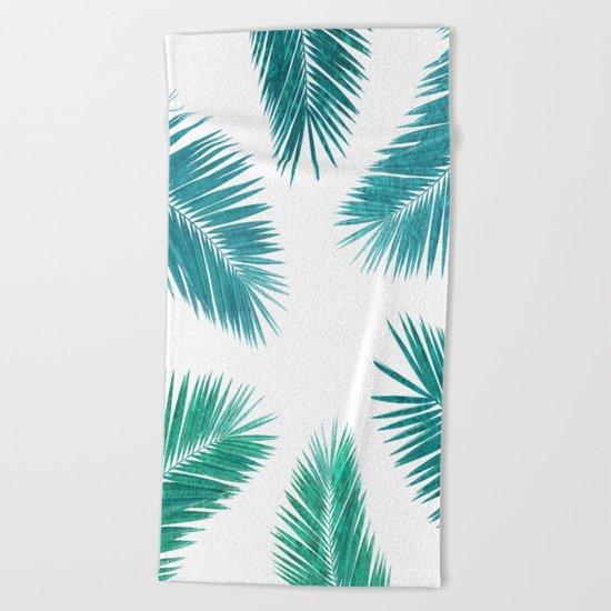 Tropical Vibes. Beach Towel