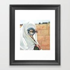 Myope Framed Art Print