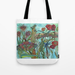 Garden of Delights Tote Bag