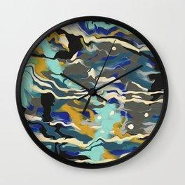 Marble Saudade Wall Clock